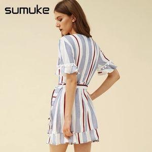 Sumuke Dresses - Brand new striped dress